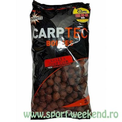 Dynamite Baits - Boilies CarpTec Krill and Crayfish 15mm - 2kg