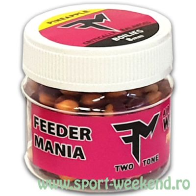 Feedermania - Air Wafters Two Tone 10mm - Pineapple Dream