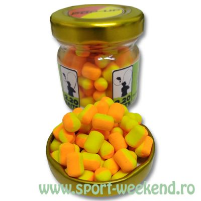 2.20 Baits - Micro Pop-Up 6mm Orange-Pineapple