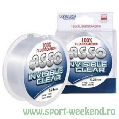 Asso - Fir Invisible Clear Fluorocarbon 0,30mm / 6kg / 50m