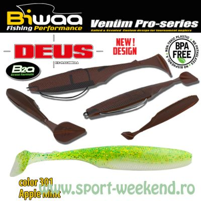 "Biwaa - Shad Deus 3"" 7.5cm - cul. 301 Apple Mint"