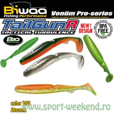 "Biwaa - Shad TailgunR 2.5"" 6.5cm - cul. 308 Atomic"