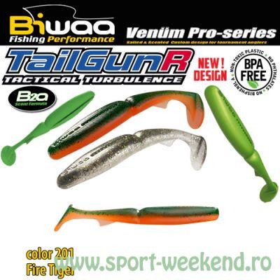 "Biwaa - Shad TailgunR 2.5"" 6.5cm - cul. 201 Fire Tiger"