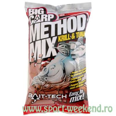 Bait-Tech - Nada Big Carp Method Mix Krill & Tuna 2kg