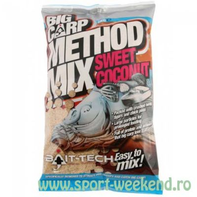 Bait-Tech - Nada Big Carp Sweet Coconut Method Mix 2kg
