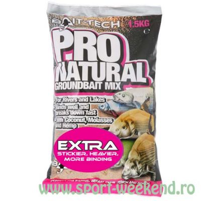 Bait-Tech - Nada Pro Natural Extra Groundbait 1,5kg