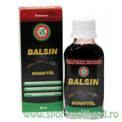 Ballistol - Ulei pentru lemn Balsin Maro Roscat 50ml