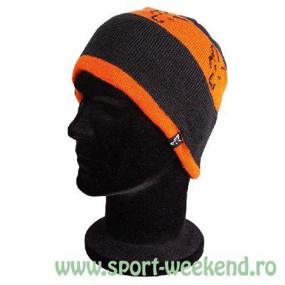 Fox - Caciula Black & Orange Beanie