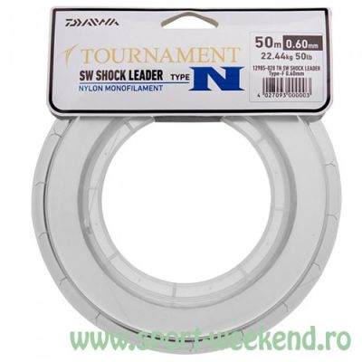 Daiwa - Fir monofilament Tournament S.W. Shock Leader T-N 0.70mm - 30,6kg -50m