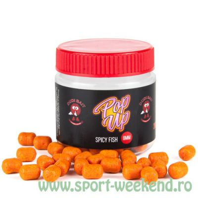 Dudi Bait - Pop-Up Dumbell Spicy Fish - 8mm