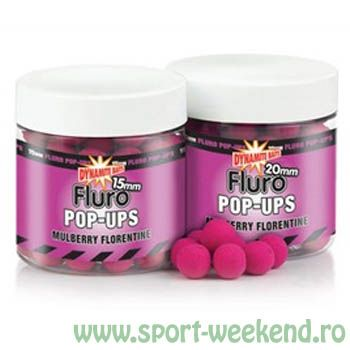 Dynamite Baits - Pop-up Fluro Mulberry Florentine Fluro Pop-ups 10mm