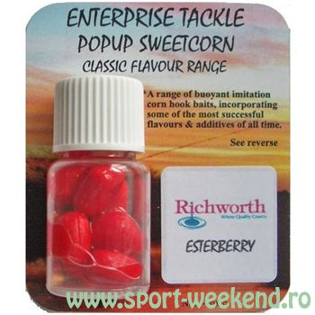 Enterprise Tackle - Porumb artificial Classic Flavour Range - Esterberry / rosu