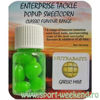 Enterprise Tackle - Porumb artificial Classic Flavour Range - Garlic Mint / verde