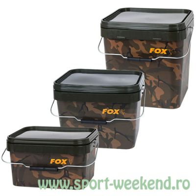 Fox - Galeata Camo Square 17l