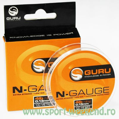 Guru - Fir N-Gauge 100m - 0,22mm - 9lb