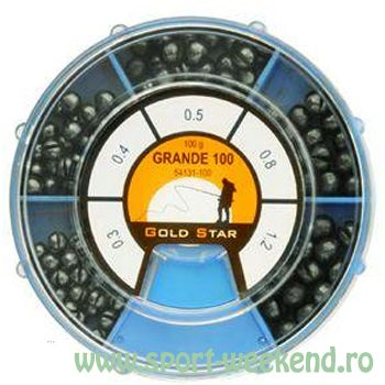 Gold Star  - Set Plumbi Grande 100g (0,3-1,2g)