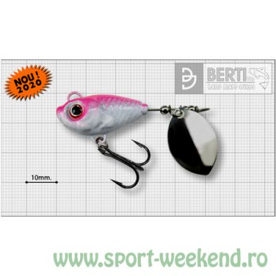 Berti - Spinnertail Fishelic Olympic nr.4 /17g - Pinky