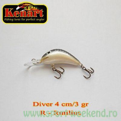 Kenart - Vobler Diver 4cm - cul. R