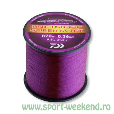 Daiwa - Fir Infinity Super Soft Purple Mud 0,36mm - 870m - 9,8kg