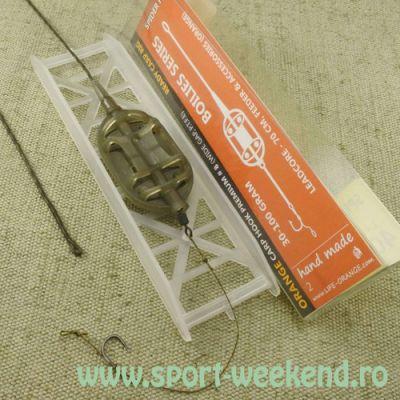 Orange - Montura Feeder Method Spider Flat Nr.4 / 30gr