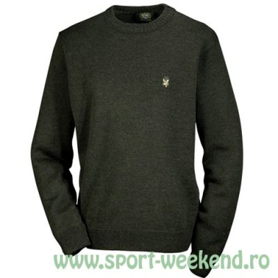 Orbis Trachten - Pulover tricotat cu broderie caprior nr.50