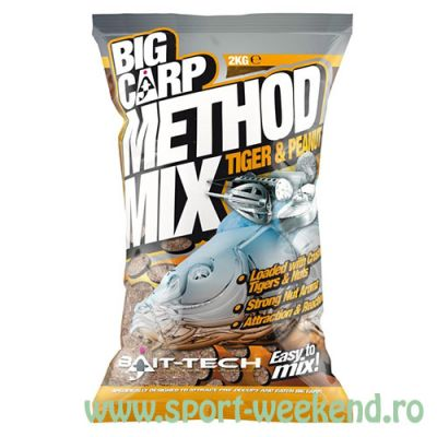 Bait-Tech - Nada Big Carp Method Mix Tiger and Peanut