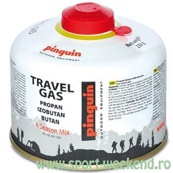Pinguin - Butelie cu valva Travel Gas 230 g