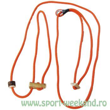 Tapel - Lesa pentru caini 230cm - portocaliu