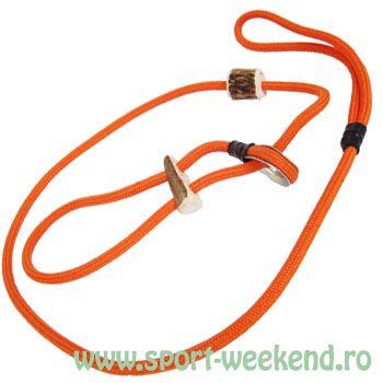 Tapel - Lesa pentru caini 80cm - portocaliu
