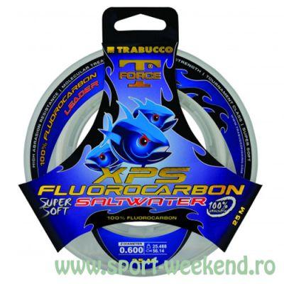 Trabucco - Fir T-Force XPS Fluorocarbon Saltwater 0,33mm - 9,40kg - 50m