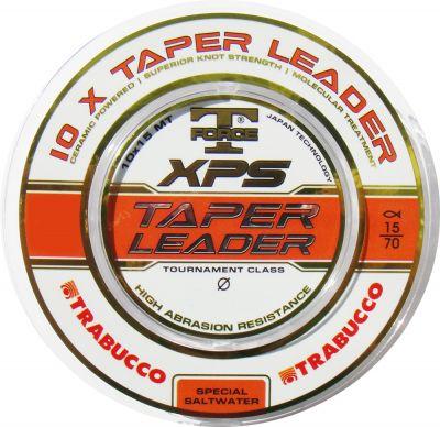 Trabucco - Fir T-Force XPS Taper Leader 10x15m - 0,20mm-0,50mm