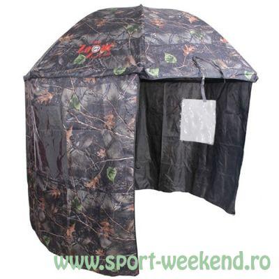 Carp Zoom - Umbrela cu Paravan Camou 250cm