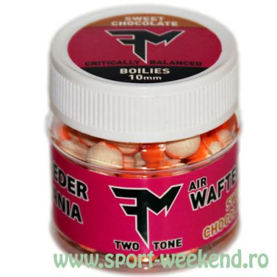 Feedermania - Air Wafters Two Tone 10mm - Sweet Chocolate