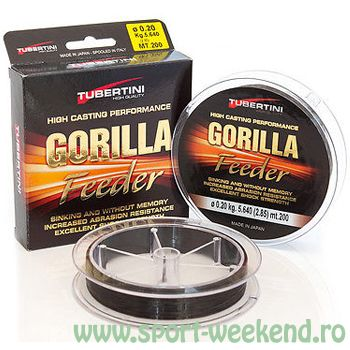 Tubertini - Fir Gorilla Feeder 0,22mm - 200m - 5,76kg