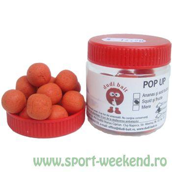 Dudi Bait - Pop-Up Squid+Fructe - 14mm