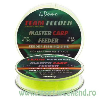 By Döme - Fir TEAM FEEDER Master Carp 0,25mm - 300m - 8,6kg