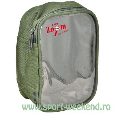 Carp Zoom - Borseta Soft cu top transparent XL
