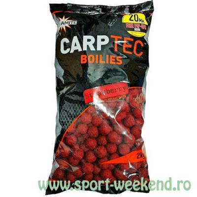 Dynamite Baits - Boilies CarpTec Strawberry 15mm - 2kg