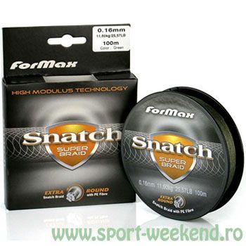 Formax - Fir textil Snatch Super Braid 100m - 0,16mm