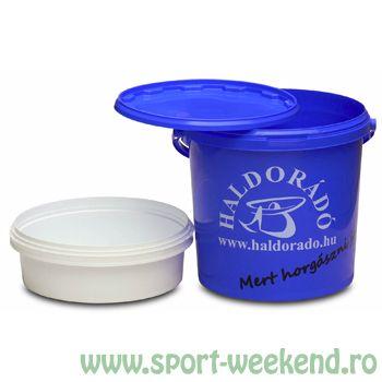 Haldorado - Galeata cu lighean si capac - 16 litri