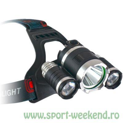 EnergoTeam - Lanterna frontala Saturn LED, 2000lm