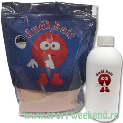 Dudi Bait - Mix boilies + parte lichida Forest Squid 5kg
