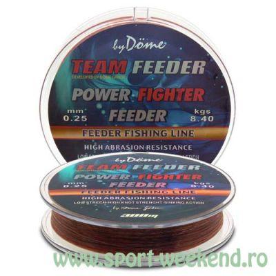 By Döme - Fir TEAM FEEDER Power Fighter 0,22mm - 300m - 6,2kg