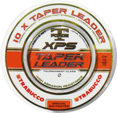 Trabucco - Fir T-Force XPS Taper Leader 10x15m - 0,20mm-0,50mm