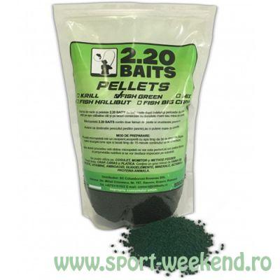 2.20 Baits - Micropelete Fish Green Betaine 2mm