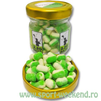 2.20 Baits - Wafters 6mm Cocos-Usturoi