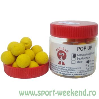 Dudi Bait - Pop-Up Ananas+Acid N-Butyric - 10mm