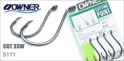 Owner - Carlige SSW 5111 nr.4/0 (6buc/plic)