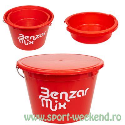 Benzar Mix - Galeata 25l + capac + bol