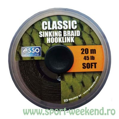 Asso - Fir Classic Soft Sinking Braid Hooklink 20m - 15lb